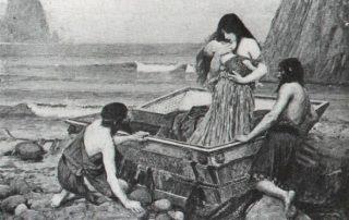 JohnWilliamWaterhouseDanaë(1892)