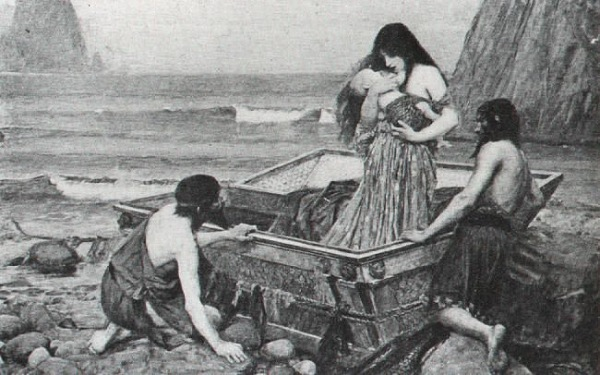 JohnWilliamWaterhouseDanaë(1892)